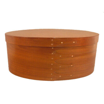 Shaker Memories Wedding Box Extra Large with Cherry Bands & Birdseye Maple Top