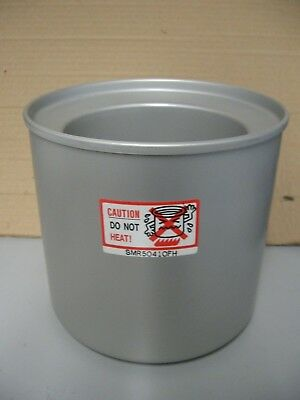 Donvier Chillfast Cylinder 1-Quart 2 Pint Ice Cream Bowl Freezer REPLACEMENT Can