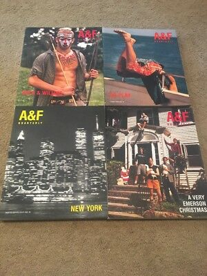 Abercrombie & Fitch Quarterly Summer, Spring, Christmas, Back To School 2000 Set