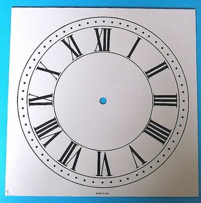 CLOCK FACE (Made in USA) 280 x 280mm