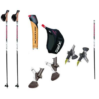 Swix Ct2 Twist & Go * Nordic Walking Stöcke * 100% Hs-Carbon - Modell 2017 - Neu