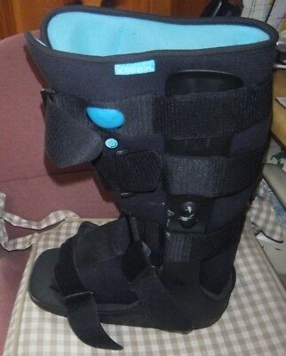 XL ANKLE OSSUR Medical Boot Walking Cast Foot Fracture Orthopedic Brace  Pump Up