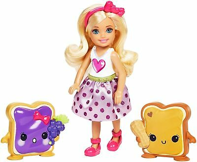 Barbie Dreamtopia Sweetville Doll Chelsea And Sandwich Friend Brand New Boxed