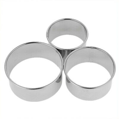 Dumplings Stainless Steel Cookie Wrapper Pastry Cutter Maker Round Dough Mold