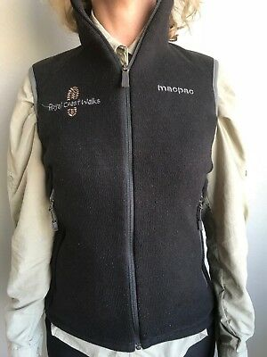 Macpac Polar Fleece Hiking Vest - Womens Size 10
