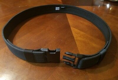 Nylon police duty belt, 2 inch, new condition,  size 46 to 52
