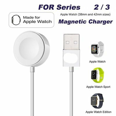 For Apple Watch Series 2/3 iWatch 38/42mm Magnetic Charger Charging Pad Cable