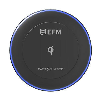 EFM WIRELESS CHARGE PAD - 10W Fast Charge Wireless - Warranty & Tax Invoice