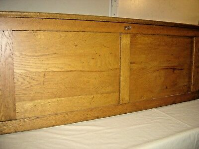 Antique Oak Map Case with 9 maps Universal Series: 9442