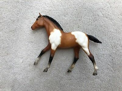 Vintage Breyer Action Stock Horse Foal #237 Bay Pinto Tobiano Dark Variation