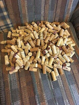 240 Used Wine Corks. No Synthetics.