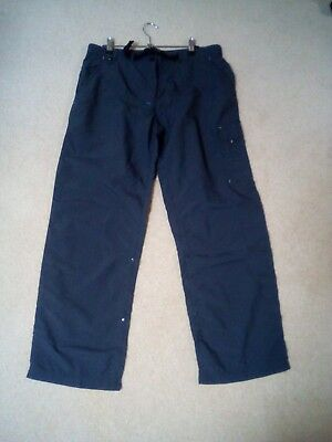 Mountain Design Mekong Hiking Pants Blue Size 14