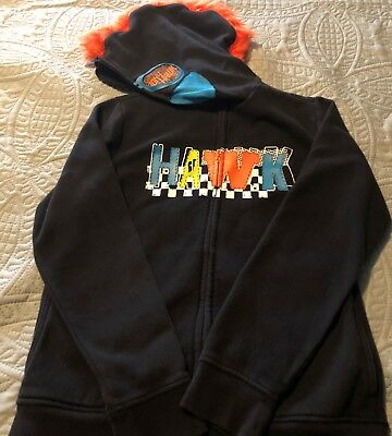 Boys Hawk Hoodie   Size Large  With Mask Hood