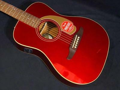 Fender Malibu Player Candy Apple Red beutiful JAPAN rare useful EMS F/S*