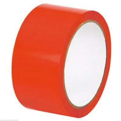 12 ROLLS OF 2 INCH RED TAPES 1000 YARDS - PACKING TAPE 2 mil