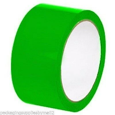 2-inch x 110 Yards 36 Rolls Green Color Packing Sealing Tape 2 Mil