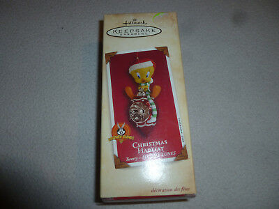 New In Box Hallmark Keepsake Ornament Looney Tunes Christmas Habitat Tweety Nib