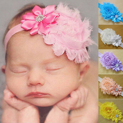 Baby Headband Headband Newborn Toddler Flower Girl Lace Christening Hair Band Ne