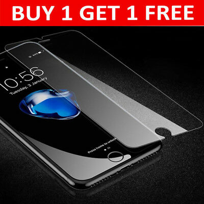 For Apple iPhone 8 Plus Screen Protector Genuine Tempered Glass - CRYSTAL CLEAR