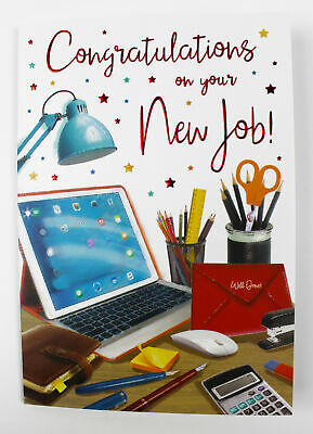 Avanti congratulations on your new job funny greeting card 274 congratulations on your new job greeting card envelope seal verse well done m4hsunfo
