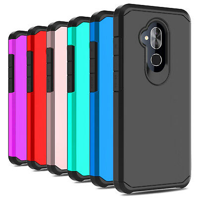 For Alcatel 7/T-Mobile Revvl 2 Plus Case Shockproof Hybrid TPU Armor Phone Cover