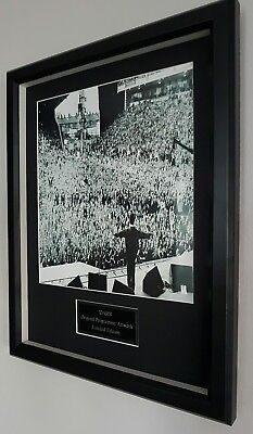 Oasis Framed Original Knebworth Maine Road Programme Artwork-Noel Gallagher