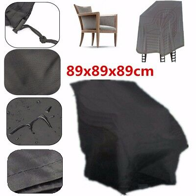 Waterproof Outdoor High Back Patio Chair Cover Furniture Protection Case USA