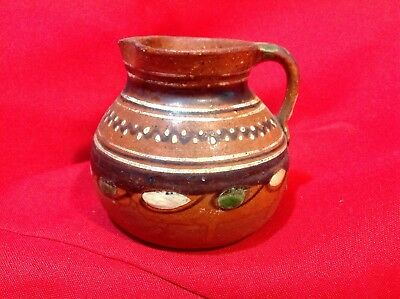Vintage Small Pottery Pitcher Possible Southwestern origin