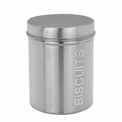 METAL BISCUIT BIN Kitchen Canister Canisters Kitchen Food ...