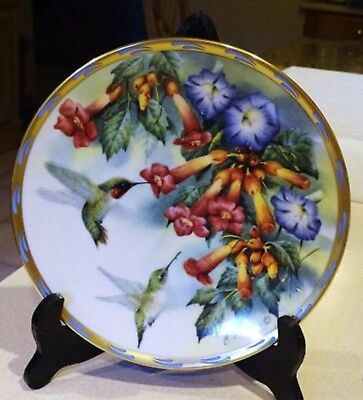 LENOX Jeweled Glory by Catherine McClung1994 Collector Plate