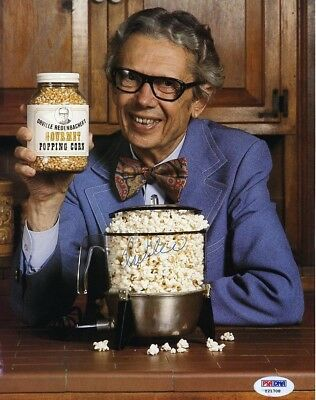 Orville Redenbacher Autographed Signed 8x10 Photo Authentic PSA/DNA COA AFTAL