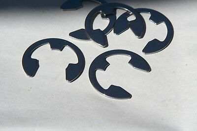 "10 Pieces Your Choice   3/16"" Thru  1""  E-Rings Steel Phos"