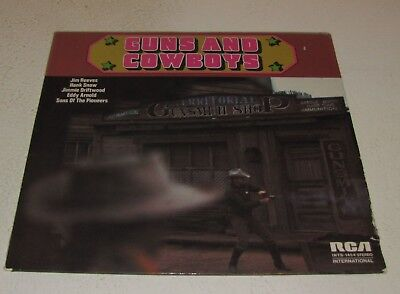 "V.A. - Guns And Cowboys / 12"" Vinyl LP  Country Western / Jim Reeves - Hank Snow"
