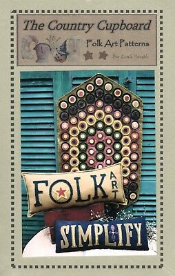Folk Art Home Penny Rug & Pillow Pattern-The Country Cupboard