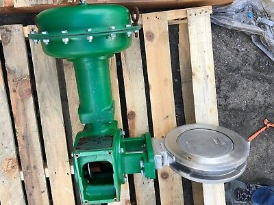 "Fisher Butterfly Valve 8"" 150# 8560 with Actuator"