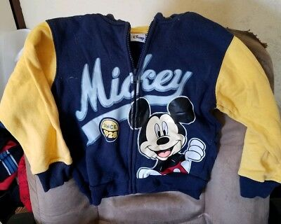 Toddler Sweatshirt Jacket - Size 4T