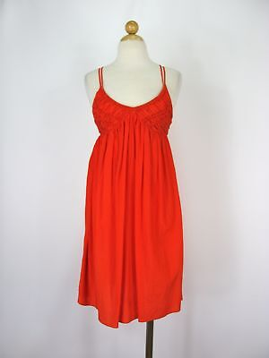 Dress Sundress Summer Dress Armani Exchange Smocked Triangle Strappy Top 0 $130