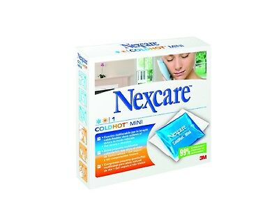 Nexcare ColdHot Mini Bolsa de Gel 110x120mm Alivia la Hinchazón Dolor Muscular