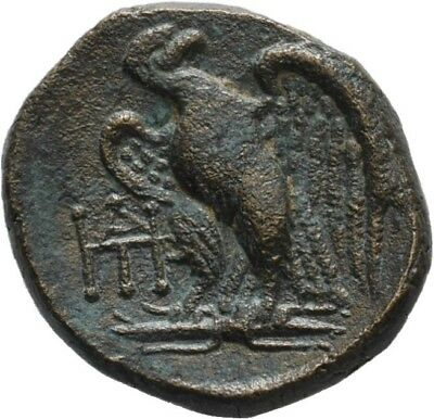 Lanz Greek Kings Of Galatia Bronze Deiotaros Zeus Eagle Bronze ±Ask1667