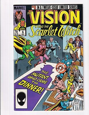 Vision And The Scarlet Witch #6 (Marvel 1985)