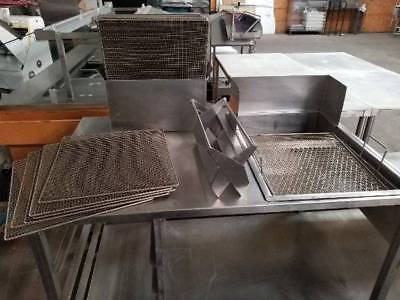 Donut Glazing Table Includes Glazing Dipper & 23 Glazing/Cooling Racks