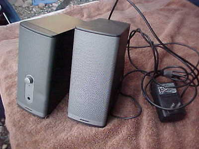 Bose Companion 2 Series II Desktop Speakers Computer Multimedia Speaker System