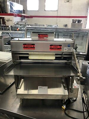 """Acme MRS11 - 20"""" Stainless Double Pass Dough Roller / Sheeter - Refurbished"""