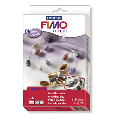 New Set : Fimo Soft / Effect, Glam Colours