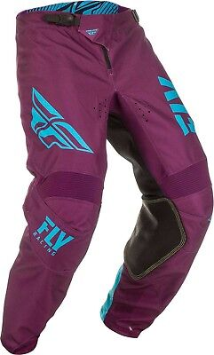 2019 Fly Racing Youth Kinetic Shield Pant-Port/Blue-20 - Motocross Dirtbike Offr
