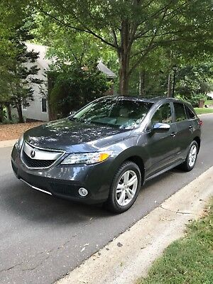 2013 Acura RDX Technology package including navigation and automatic lift gate 2013 Acura RDX with navigation/tech package and AWD