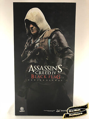 IN STOCK 1/6 Assassins Creed 4 Black Flag Edward Kenway Figure USA Dam Toys Hot