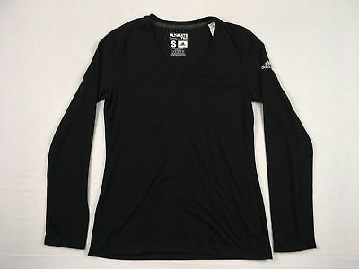 NEW adidas - Black Poly Long Sleeve Shirt (Multiple Sizes)