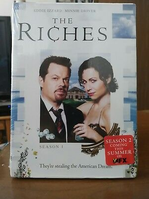 The Riches - Season 1 (DVD, 2009, 4-Disc Set) Free Shipping