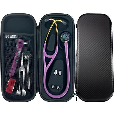 Pod Technical Cardiopod Cardiology Stethoscope Case - Carbon Finish for Littmann